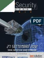 ADVANTEC IP Security Forum 2012 - Torino