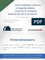 Observatorio de Medios Digitales CEMEFI 2012