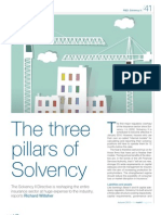 Markit Magazine - The Three Pillars of Solvency II