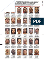 Most Wanted Property Crime Offenders Sept 2012