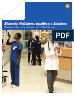 BROCHURE AirDefense Solutions for Healthcare