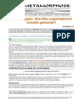 Akita-japan-Are the Supernatural Events Genuine