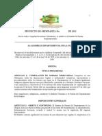Estatuto de Rentas 2011- La Guajira