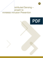 Dedicated Distributed Sensing the Right Approach to Wireless Intrusion Prevention