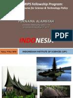 Presentasi NISTEP 2010 - Short Course