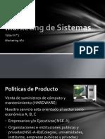Marketing de Sistemas