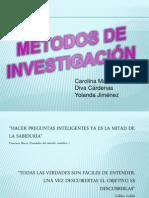 Expo. Metodos de Investigacion