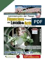 Certificacion Internacional New York Lavado de Activos