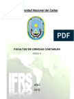 Norma Internacional de Contabilidad Previa