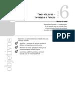 Taxas de juros - formação e função