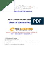 Apostila de Ética no Serviço Público para Concursos