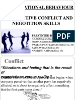Organizational Behaviour-interactive conflict and negotiation skill