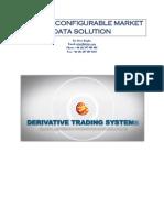 Configurable Market Data Solution
