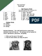 Study Guide Tara and Tiree