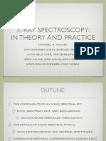 X-Ray Spectroscopy School Final