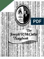 The Joe McCarthy Songbook