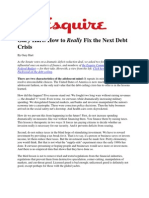 Debt Crisis - Gary Hart