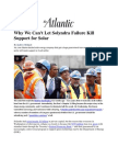 Why We Can't Let Solyndra Failure Kill Support for Solar - Holland