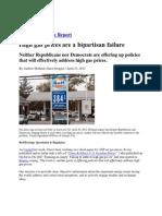 High Gas Prices Are a Bipartisan Failure - Holland