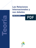 HALLIDAY Fred Las Relaciones Internacionales