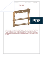Wall Shelf Plan - Woodworking Furniture Plans - Craftsmanspace