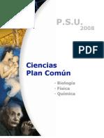 Programa a considerar para la PSU. CIencias
