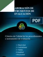 Elaboracion de Instrumentos Evlauacion
