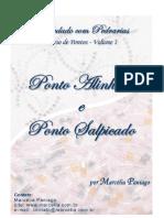Curso nº 1 - Marcelia Paniago - Ponto Alinhavo e Salpicado