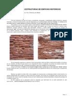 intervenciones en estructuras de edificios históricos