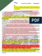 Aplicació Real Decret-Llei 20/2012 per a les UBE