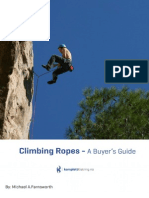 Climbing Ropes Buyer's Guide by Michael Farnsworth