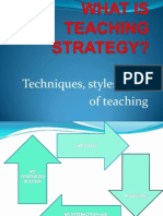 What is Teaching Strategies