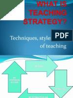 What is Teaching Strategies