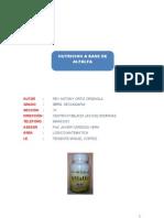Nutricion a Base de Alfalfa