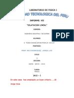 Informe de Laboratorio de Fisica I - Laboratorio 7