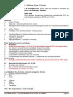 Fasne - Direito Processual Civil i - Aulas