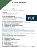 Fasne - Direito Constitucional II - Aulas Os 3 Poderes