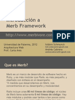 Introducción a Merb Framework