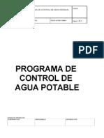 Programa de Control de Agua Potable (1)