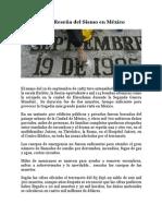 Breve Reseña del Sismo en México