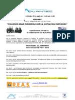 Advantec Seminario Dmr - Reas - 6 Ottobre 2012