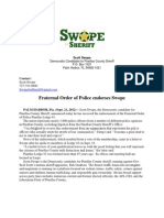 Fraternal Order of Police endorses Swope