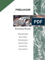 Landrover Freelander Werkstatthandbuch