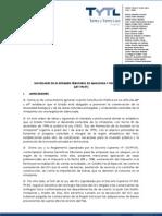 Regimen de La Amazonia Peruana