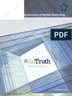 Improving the Economics of Mobile Marketing