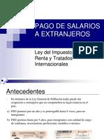 Salarios a Extranjeros