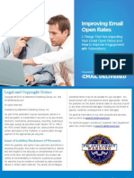 How to Improve Your Email Open Rates