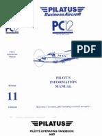 Pilatus PC-12 Pilot s Information Manual