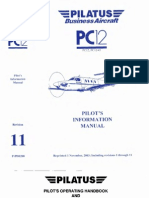 Pilatus PC-12 Pilot s Information Manual