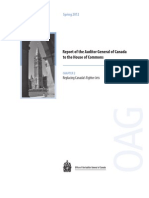 Report of the Auditor General of Canada to the House of Commons